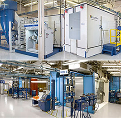 Nordson Industrial Coating Systems Lab Testing