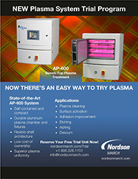 Nordson MARCH Plasma Treatment Trial Program