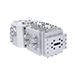 Bloques de alimentación coextrusores de geometría ajustable Ultraflow™ V-T