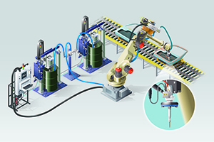 Complete Dispensing System for Automotive Assembly