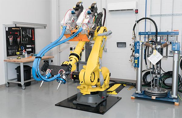 Nordson-Application-Development-Test-Facility-Robot