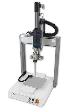 Roboter Dosiersystem XYZ mit Micro-Meter A2K