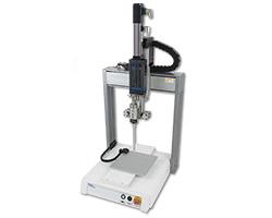 Dosiersystem XYZ Roboter mit Micro-Meter A2K