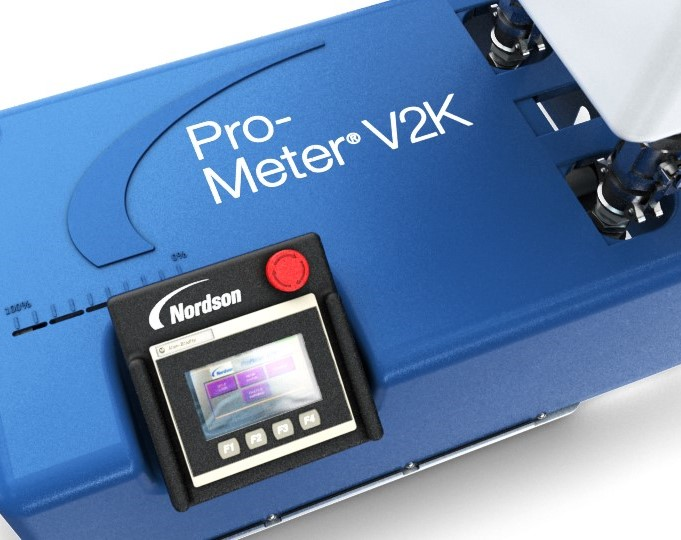 Pro-Meter® V2K - Benchtop 2K Metering System | Nordson Sealant Equipment