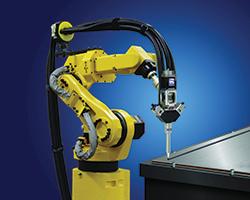 Mix-on-Demand Power Mixer On Fanuc Robot