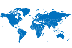 Using the interactive map, select your country to find your local sales and support contacts.