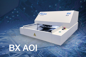 BX AOI提供偏外台式PCB检查,具有卓越的缺陷覆盖。