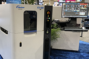 Nordson YESTECH's FX-500 Ultra 3D Solder Paste Inspection Solution Debuts at APEX 2018.
