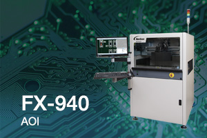 Automated optical inspection system offers high-speed PCB assemblies inspection with exceptional defect coverage.