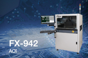 All new Dual-Sided PTH Automated Optical Inspection Solution