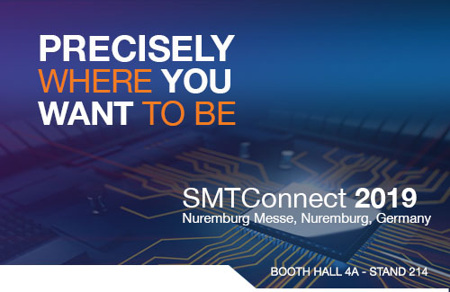 See the latest advances in Test & Inspection at SMTConnect 2019